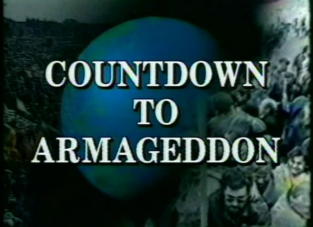 Image result for pictures of Countdown to Armageddon