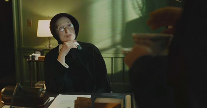 """doubt movie questions Doubt: a parable - discussion questions and study guide 1 mh abrams, in his glossary of literaryterms, defines a parable as """"a very short narrative about human beings presented so as to stress the tacit analogy or parallel with a general thesis or lesson that the narrator is trying to bring home to his or her audience."""