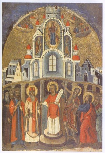 Празник Покрову Пресвятої Богородиці