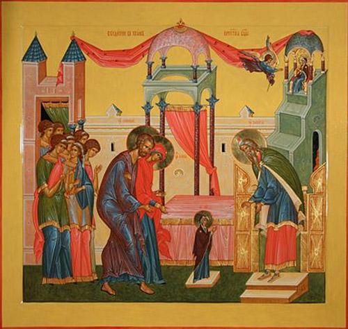 Проповеди на праздник Введения во храм Пресвятой Богородицы